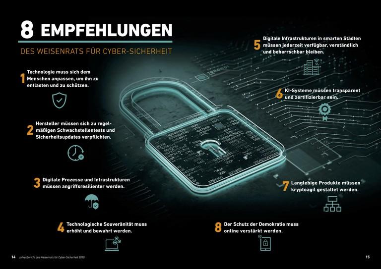 Right click to download: Acht Handlungsempfehlungen des Weisenrats für Cyber-Sicherheit