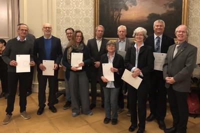 Math. Nat. Fakultätsempfang 2019 Dr. Nils Goerke 2. v.r.