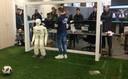 Team NimbRo stellt seine humanoide Fußball Roboter vor