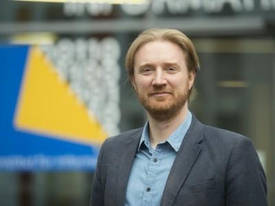 Prof. Dr. Matthew Smith.  Foto: Barbara Frommann/Uni Bonn