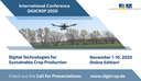"International Conference ""Digital Technologies for Sustainable Crop Production"" (DIGICROP)"