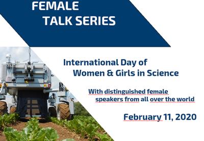 PhenoRob Female Talk Series am Internationalen Tag von Frauen und Mädchen in der Wissenschaft