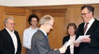 Universität Bonn ernennt Dr. Wolfgang Koch zum außerplanmäßigen Professor