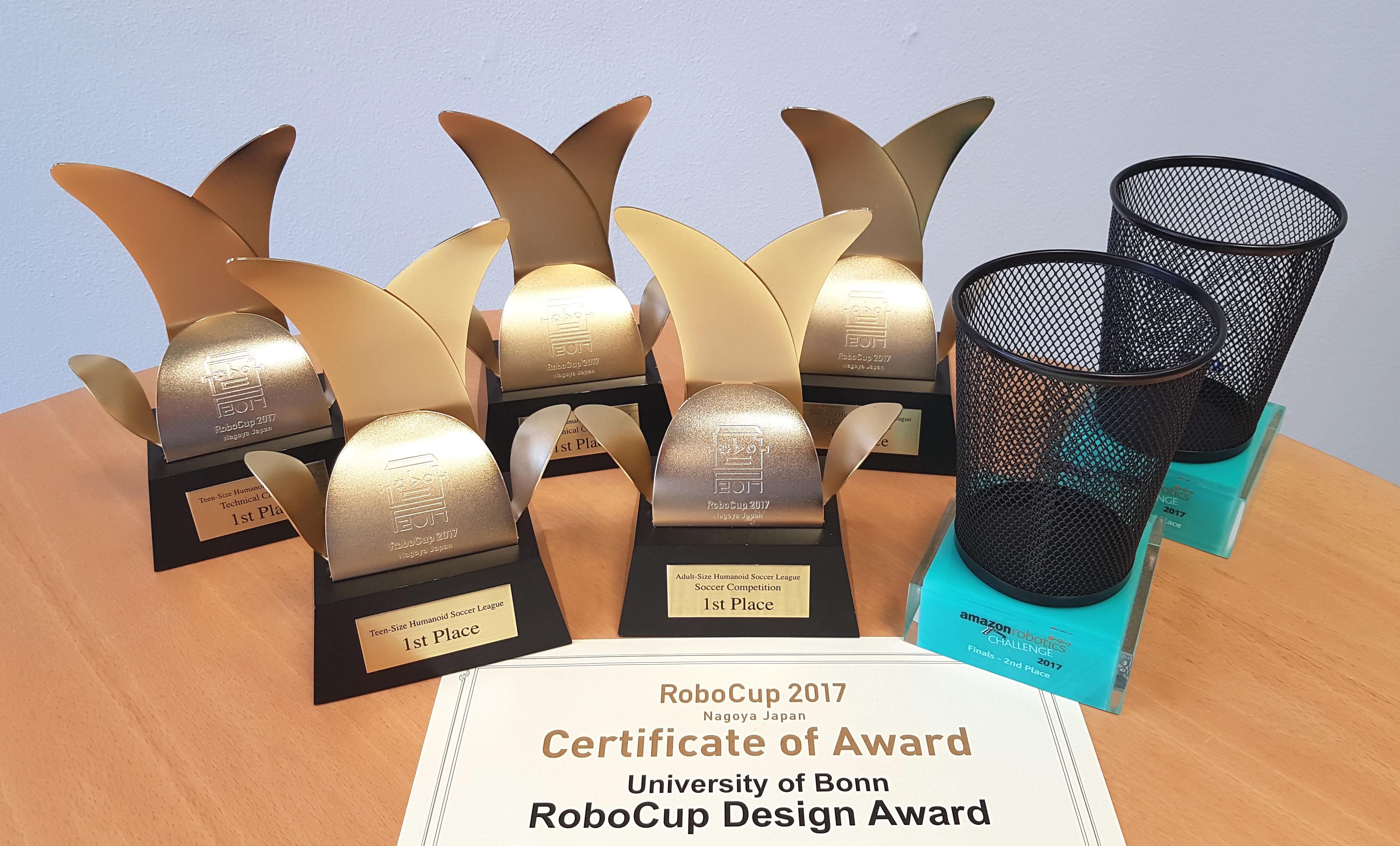 Team NimbRo Successful at RoboCup