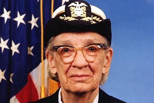Right click to download: Namesake of the awards: Grace Hopper, 1984