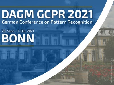 The German Conference on Pattern Recognition (DAGM GCPR) will take part from September 28th to October 1st.