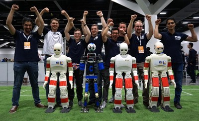 at the robot soccer world cup in Sydney. © photo: AIS/Uni Bonn